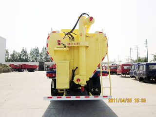 Bulk Poultry Feed Transport Truck Bulk Feed Truck Trailer