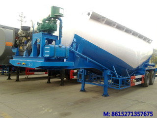 DTA9350GFL Bulk Cement Trailer 2axles