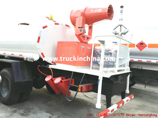 Dust Control Truck Water Tanker with Fan Pump