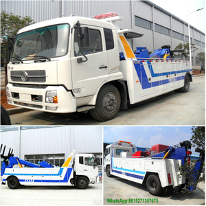 Dongfeng Tianjin 10T Towing Conjoined Road Wrecker