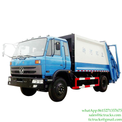 8m3 Dongfeng 4x2 Compactor Waste Truck