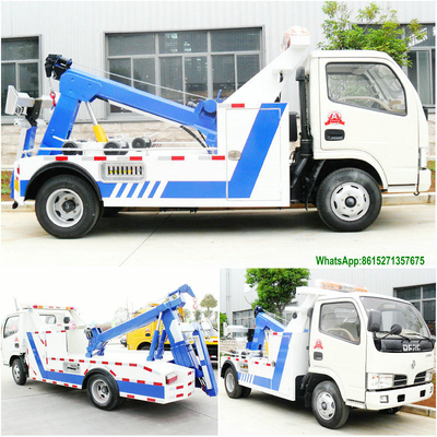 Dongfeng 3T Towing Conjoined Wrecker