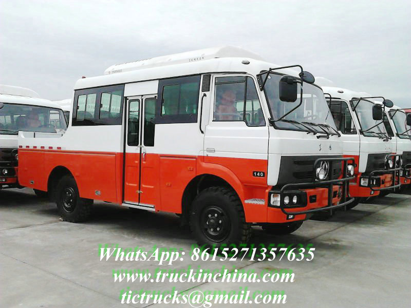 4wd Engineering Van Off-road Bus
