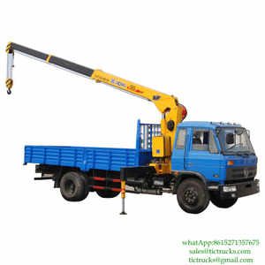 6.3T 170HP Crane Vehicle 4x2 for sale Euro 3 6