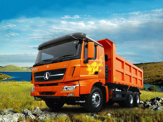 Beiben V3 Dump Trucks Mercedes Benz Alxes