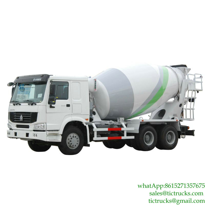 HOWO 6x4 Cement Mixing Truck Euro 3, 5,6