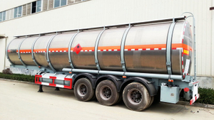Cheaper Aluminium Alloy Tanker Truck 50000Liters