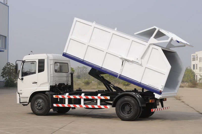 Garbage Collection Truck Customization