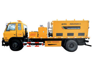 Heat-insulation Asphalt Repairing Truck