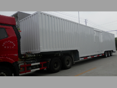 ALUMINIUM VAN SEMI TRAILER 3 Axles