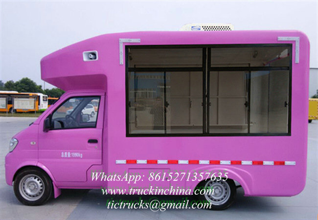 Dongfeng 5021XSH4EQ Snack Food Truck Fast Food Truck for Hot Sale