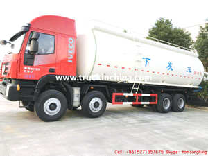 IVECO GENLYON Bulk Cement/ Powder Tanker Trucks
