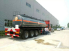 NaOH Sodium Hydroxide Tank Trailer 190000L-30000L Caustic Soda Round Dishhead Truck Trailer