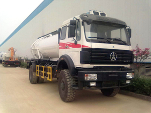 Beiben 4X4 NORTH BENZ VACUUM TANKER