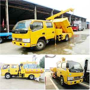 Dongfeng 4x2 Double Row Dredging Cleanout Truck