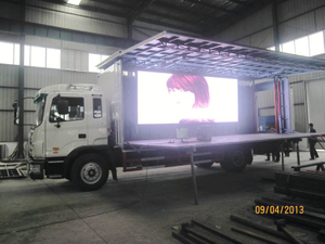 Publicize Truck Customization JAC Stage Truck Show Mobile Stage Truck