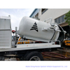 Combined Sewer Jetting Vacuum Tank Body Customized (3000L -16000L Combination Jet-VAC Units Combined Sewer Vehicles Body Build Tank)