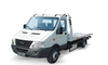 Iveco. Roll Back Flatbed Wrecker or Wheel Lift Wrecker with Broken Car Carrier for Towing Truck 5ton Optional 4X4 Offroad Awd Integrated Lift 3ton