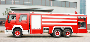 Sinotruk HOWO 6X4 Fire Fighting Truck/ Fire Engine Truck with Water 16000L Tank