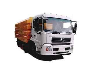 Dongfeng Efficent Street Vacuum Road Sweeper 7 Cbm Garbage 3.5cbm Water Stainless Steel 4X2 -4X4 -Rhd. LHD