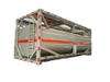20FT Tank Container for Acetic Acid 5 % Steel Lined LDPE also for HCl (max 35%), NaOH (max 50%), NaCLO (max 15%), PAC (max 17%), H2SO4(60%, 98%), HF ( 48%),