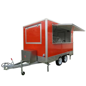 Hot Mobile Fast Food Trailer Customising (Burger Vending Trailer, Ice Cream Trailer)