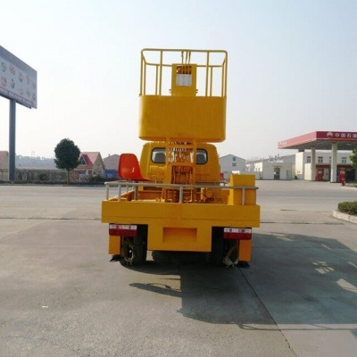Dongfeng 16m Telescopic Aerial Platform Truck Fully Hydraulically Operate 3 Boom Option 4X2.4X4 LHD. Rhd
