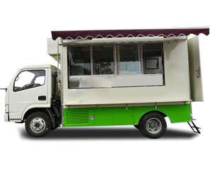 DFAC Diesel Mobile Kitchen Food Truck 4.2 Meters Long Rhd. LHD 4X4 or 4X2