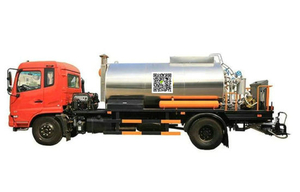 Kingrun Asphalt Distributor (8000L Asphalt Road Spraying Truck)