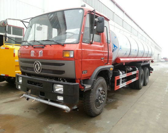 10 Wheels Insulated Water Bowser Tanker Truck 5000USG-6000USG (Customize for Drinking Water Stainless Steel, Alumilium Alloy LHD RHD Offorad)