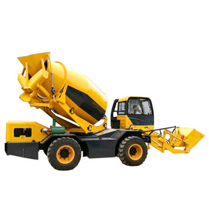 Portable Self Loading Concrete Mixer Truck (4M3 Transit Mixer Tank)
