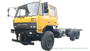 Dongfeng 6 Wheel Drive Truck Chassis