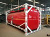 Custermizing 20FT Portable ISO Tank Container For Acid Hydrochloric Acid ,Sodium Hypochlorite,Hydrofluoric Acid ,Sodium Hydroxide (LDPE Lined Tank Container)20K