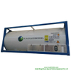 T75 ISO Tank Container Cryogenic for Liquid LNG, Oxygen, Nitrogen, Argon, 20FT Container Portable