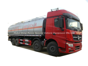 Beiben 3134 Tanker Truck with Insulation Layer for Heat Bitumen, Liquid Asphalt, Coal Tar Oil, Crude Oil Transport 26, 000L-33, 000liters