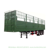 Customized 3axles Livestock Cargo Transport Trailer 40t-60t
