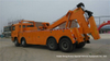 Shacman Heavy Duty Rotator Wrecker for Towing 50 Ton Truck Boom Lifting 25 Ton 12 Wheels