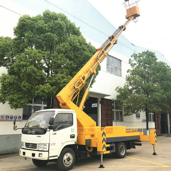 Dongfeng 16m Telescopic Aerial Platform Truck 4X4 off Road