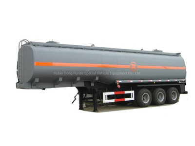 Customized Dilute Sulphuric Acid Tanker 40t (Steel Lined Rubber plastic LLDPE Chemical Liquid Tanker)