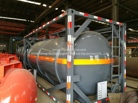 Sulfuric Acid 20FT Tank Container for Un1830 (Sulphuric acid 98.0% H2SO4 Isotank)