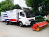 Efficient Road Sweeper 8000 Liters Street Cleaning Truck Road Sweeper Euro 3.6