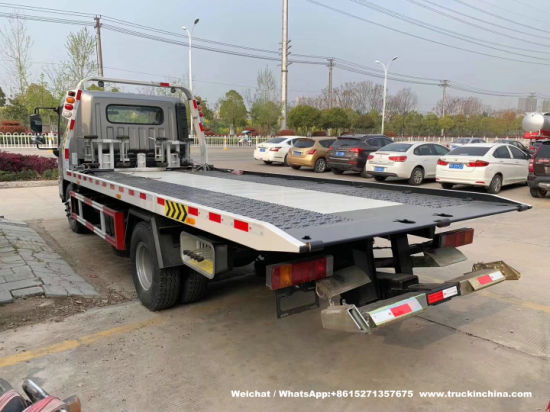 Wholesale Hyundai 6t Flatbed Car Carrier Road Recovery Tow