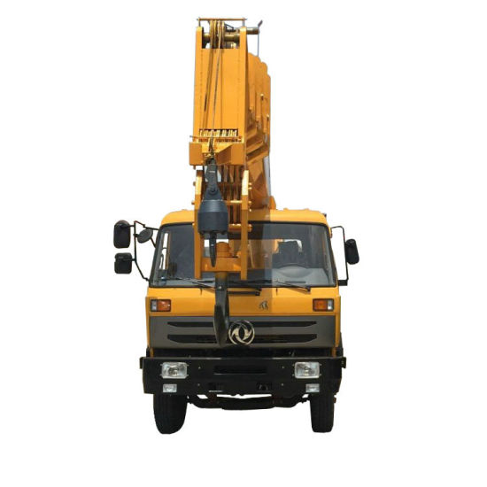 Dongfeng Truck Mounted Heavy Duty Crane Telescopic Boom