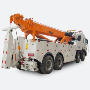 JAC Recovery Heavy Duty Wrecker Truck 50 Tons 12 Wheels