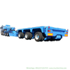 Customized Heavy Haul Multi Axles Modular Trailer 120 Tons Low Bed Trailer