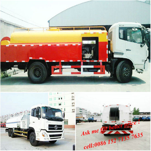 High Pressure Cleaning Water Jetting Tanker Truck 8000 ~10000L Euro 3-6
