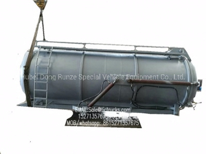Septic vacuum Sewage Sludge Tank Body Customizing for Truck Mounted