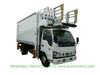 I. Suzu Aviation Airline Catering Truck (Scissors Food Truck 5000X2000X2245mm Refrigerated Van)