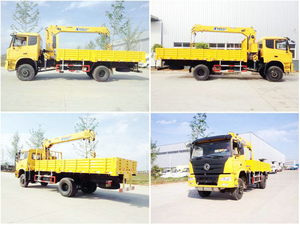 Dongfeng All Wheel Drive 4X4 Truck Mounted Crane 4X4 off-Road with 190HP Cummins Engine