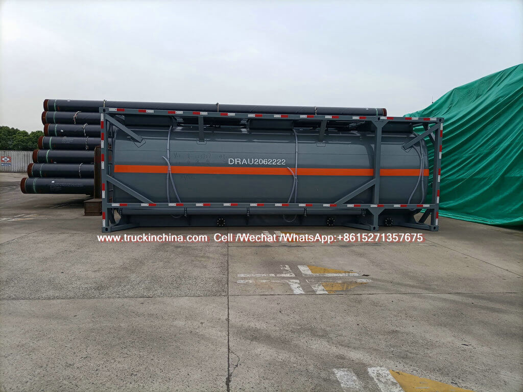 30ft ISO LLDPE Lined Tank for Hydrochloric Acid chemcial fluied (9)